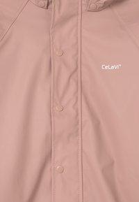 CeLaVi - BASIC RAINWEAR SET UNISEX - Regnjacka - misty rose - 4