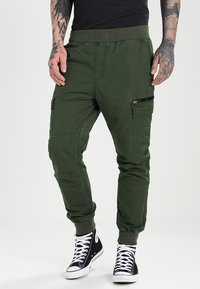 Pier One - Cargobroek - dark green - 0