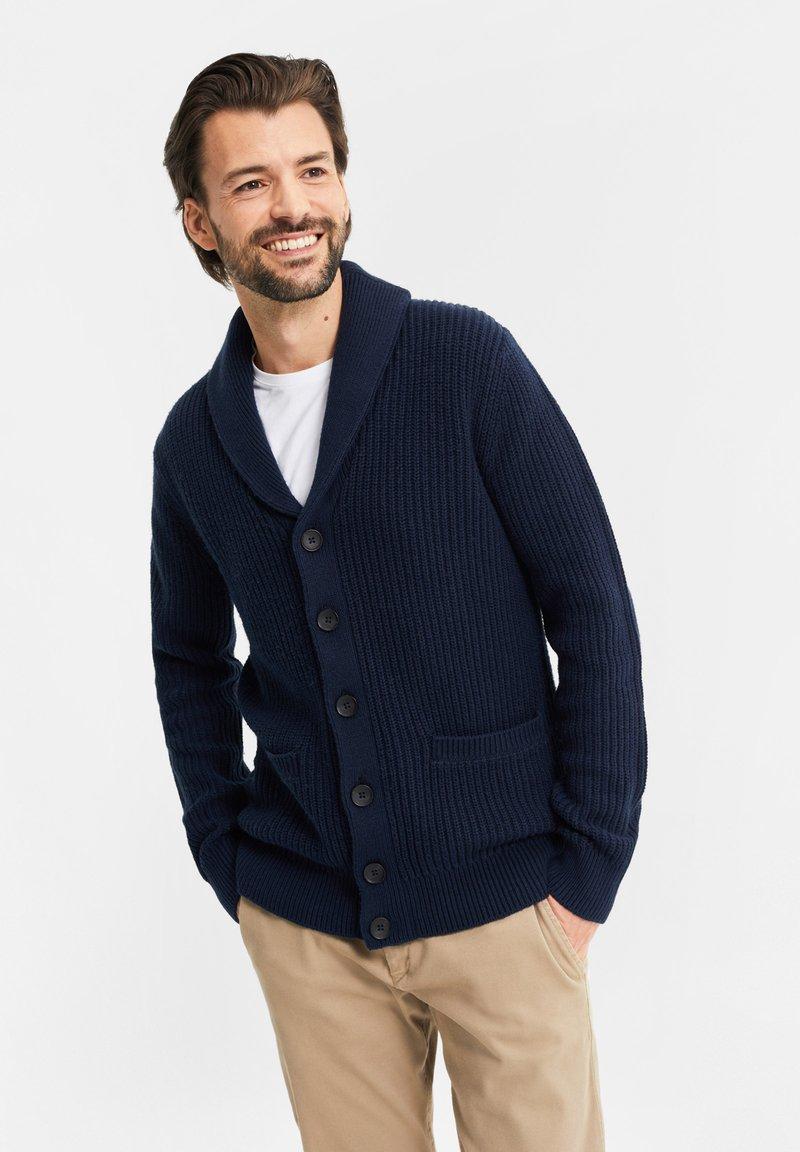 WE Fashion - Cardigan - dark blue
