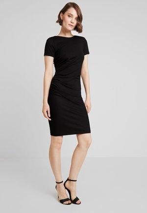 YASCANE DRESS - Shift dress - black