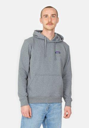 Hoodie - gravel heather