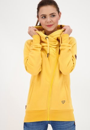 SNAKECHARMERAK - Zip-up hoodie - amber