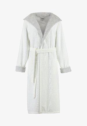 Dressing gown - weiß/silber