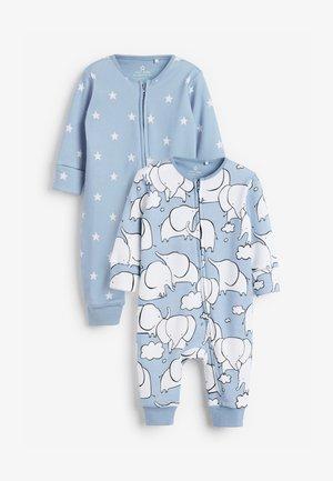 2 PACK  - Sleep suit - white