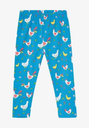 LIBBY PRINTED CHICKEN BABY - Leggings - Trousers - blue