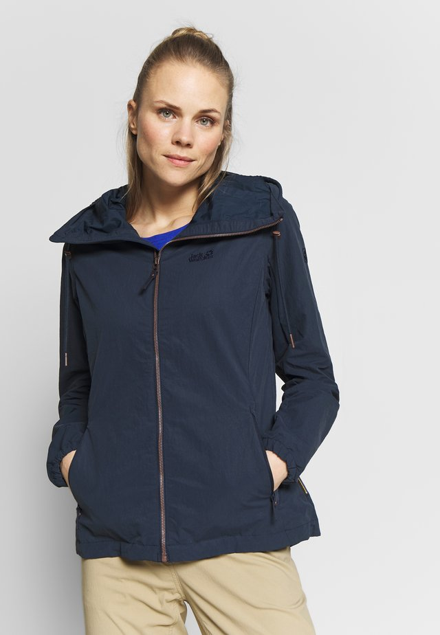 LAKESIDE JACKET  - Giacca outdoor - midnight blue