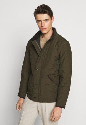OUTERWEAR JACKET - Summer jacket - evergreen moss