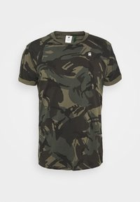 G-Star - LASH R T S\S - T-shirt med print - combat dutch camo - 3
