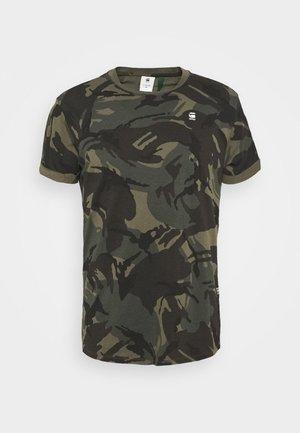 LASH R T S\S - T-shirts med print - combat dutch camo