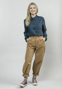 Brava Fabrics - Button-down blouse - blue - 1