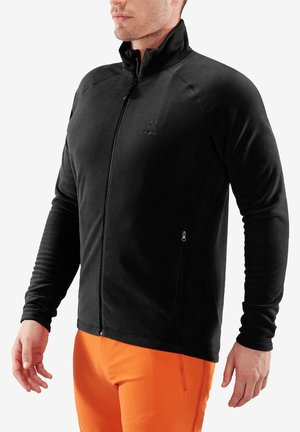 ASTRO JACKET - Fleece jacket - true black