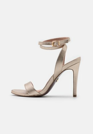Sandalias de tacón - platinum