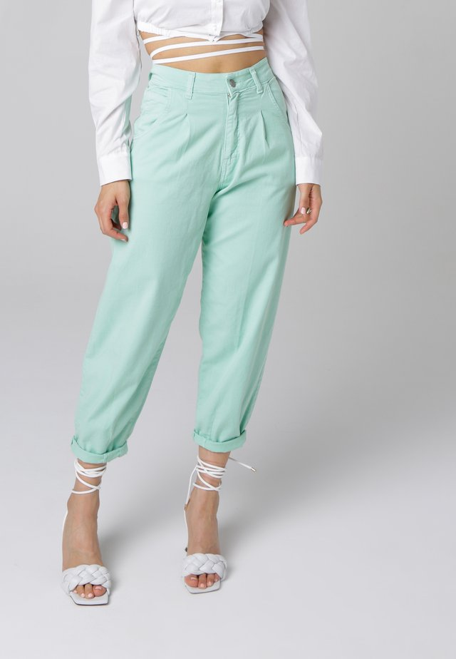 Relaxed fit jeans - mint