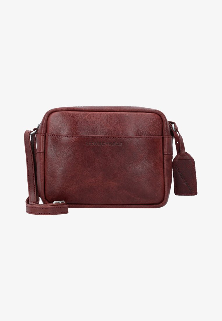 Cowboysbag - WOODBINE - Across body bag - burgundy