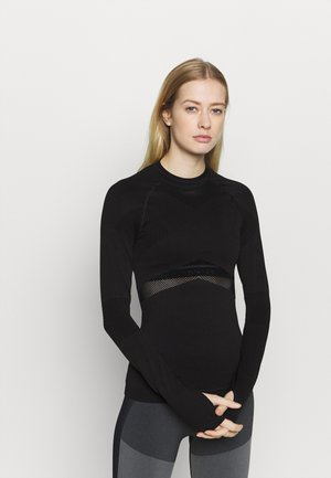 COMPRESSION  - Long sleeved top - black