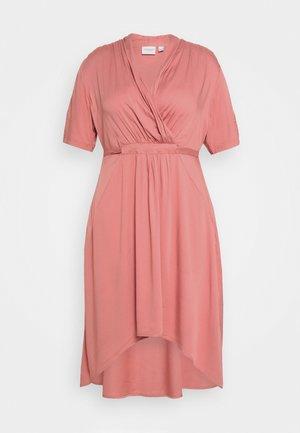 JRSINKA ABOVE KNEE DRESS - Denní šaty - canyon rose