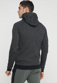 Under Armour - SPORTSTYLE FULL ZIP - Zip-up hoodie - black - 2