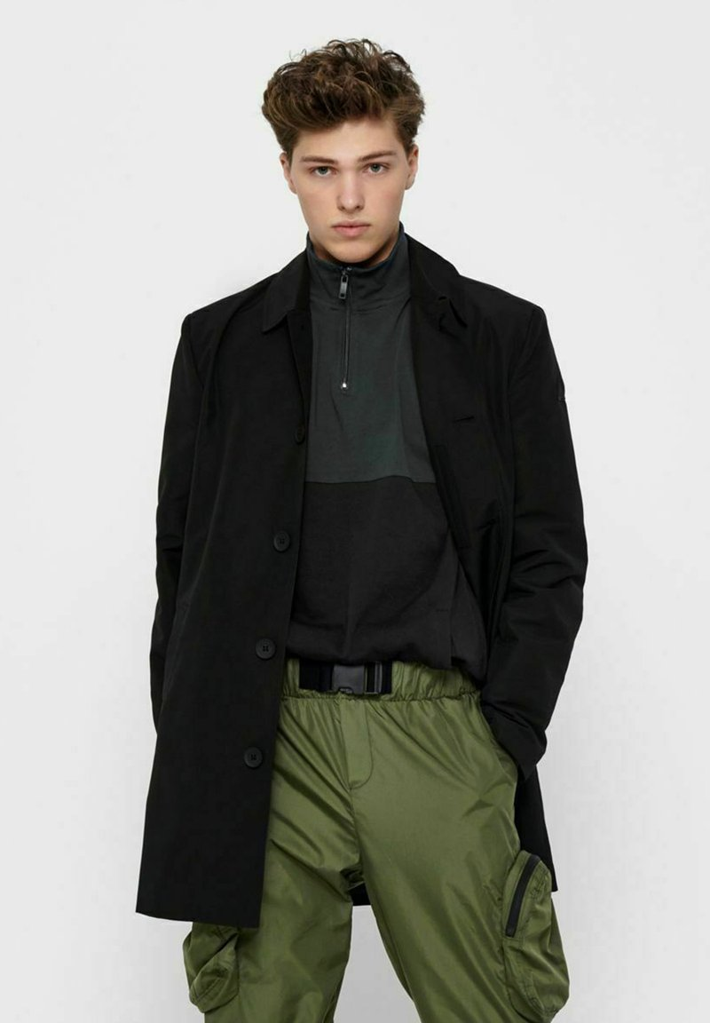 Only & Sons - Trenchcoat - black