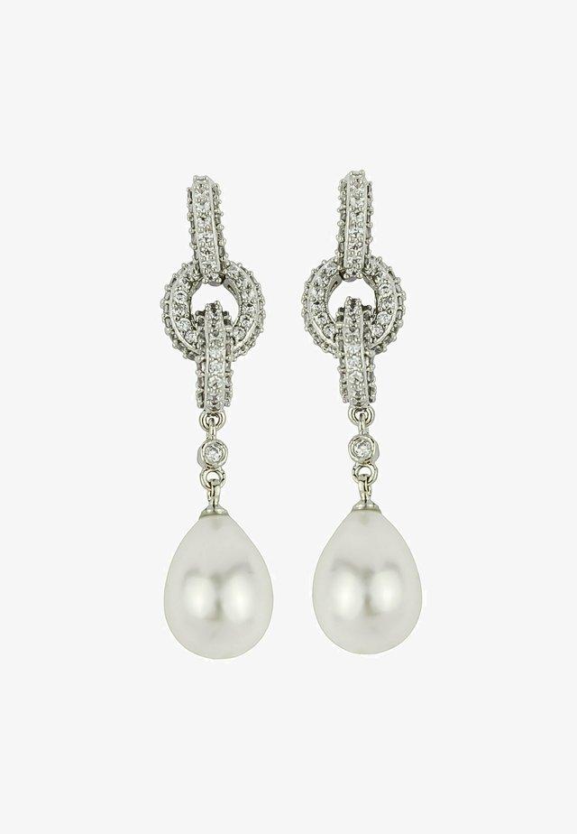 Boucles d'oreilles - silver coloured