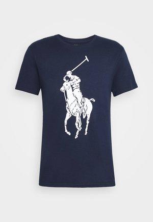 SHORT SLEEVE - T-shirt med print - newport navy