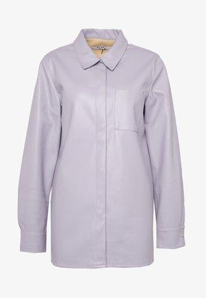 POCKET SHIRT - Button-down blouse - purple