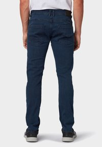 TOM TAILOR - TROY - Slim fit jeans - dark stone blue black denim - 2