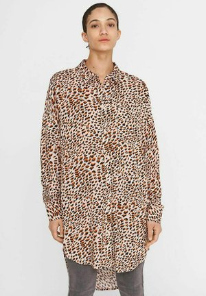 Button-down blouse - sugar almond