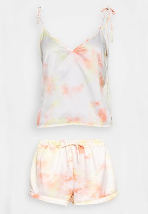 TIE SHOULDER CAMI & SHORT  - Pyjama - multi