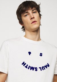 PS Paul Smith - MENS FACE - Print T-shirt - white - 4