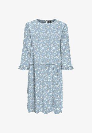 Robe d'été - cashmere blue