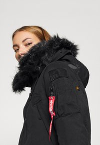 Alpha Industries - POLAR JACKET - Winter coat - black - 5
