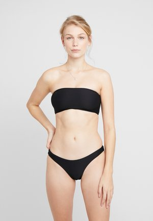ESSENTIALS TUBE TOP AND HIGH CUT PANT SET - Bikini - black