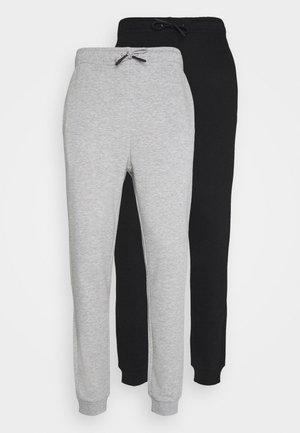 ONSCERES LIFE PANTS 2 PACK - Teplákové kalhoty - black/grey