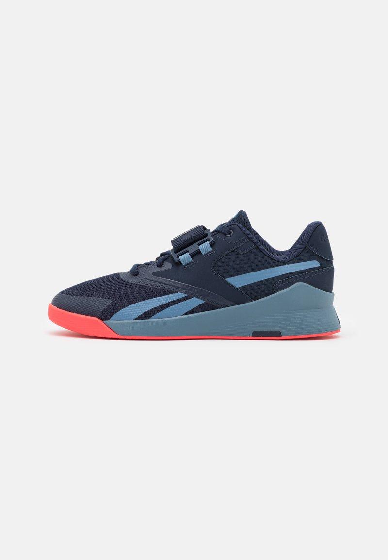 Reebok - LIFTER PR II - Zapatillas de entrenamiento - vector navy/blue slate/neon cherry