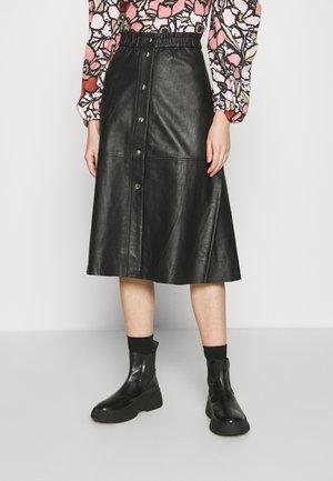ONLLENA SKIRT - Áčková sukně - black
