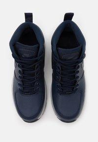 Nike Sportswear - MANOA '17 - Vysoké tenisky - obsidian/light smoke grey - 3