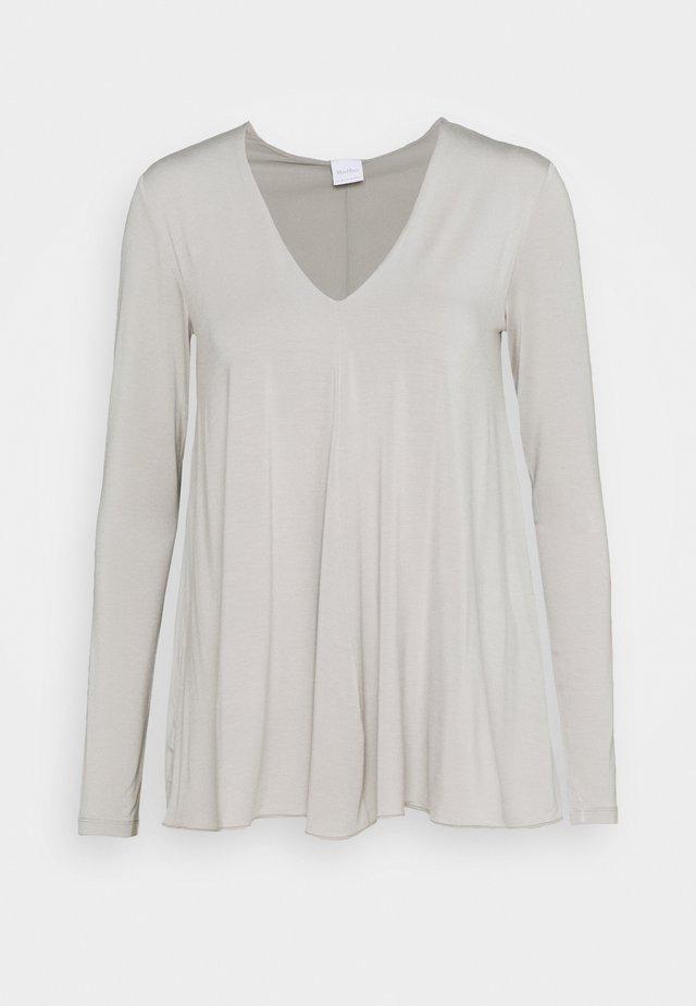 FONDI - T-shirt à manches longues - mittelgrau