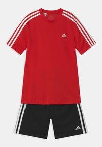 adidas Performance - SET - Sportovní kraťasy - vivid red/black/white - 0