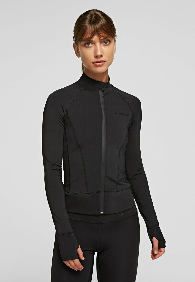 KARL LAGERFELD - Training jacket - black