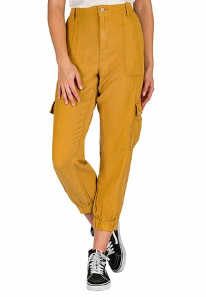 TROPIC - Pantalones cargo - apricot