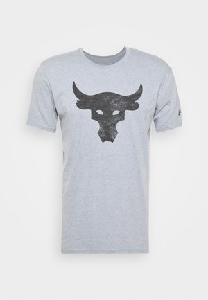 ROCK BRAHMA BULL - T-shirts print - steel light heather