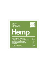 Dr Botanicals - HEMP STRESS RELAXING ANTIOXIDANT NIGHT MOISTURISER 50ML - Soin de nuit - - - 2