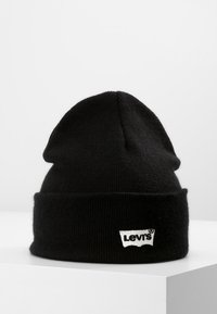 Levi's® - BATWING EMBROIDERED SLOUCHY BEANIE - Beanie - regular black - 0