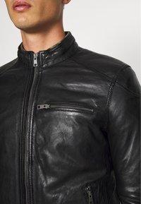 Serge Pariente - CHIC - Leather jacket - black - 4