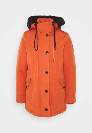 NEW DUTY SHORT - Parkas - dusty royal orange
