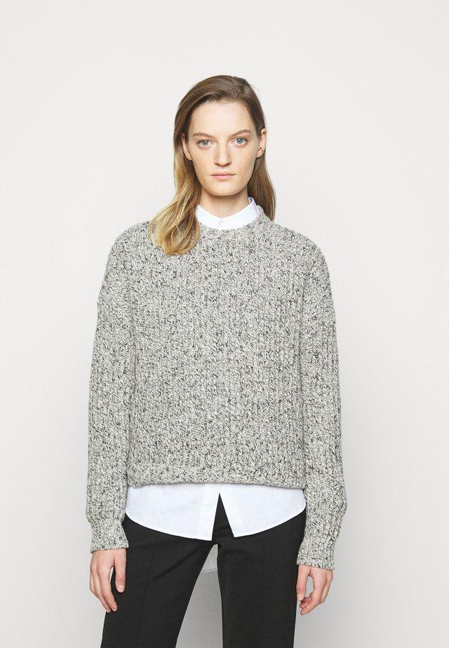 DOANIE - Sweter - black/white