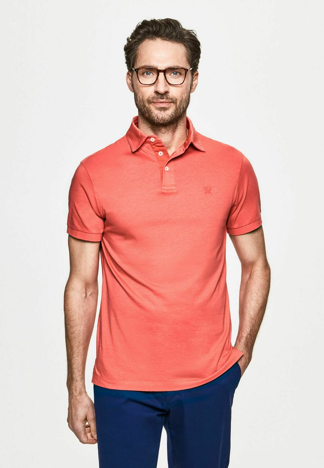 GMT DYED  - Polo - coral