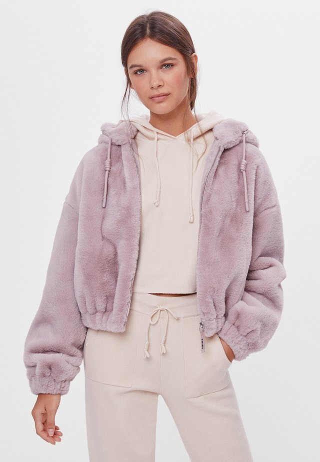 Fleece jacket - mauve