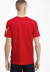 Puma - SHORT SLEEVE - Print T-shirt - high risk red - 2