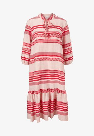 Korte jurk - true red aop